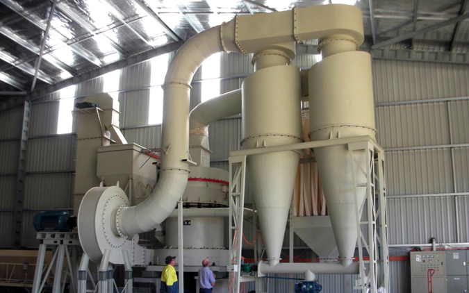 Vertical Roller Mill Used In Calcite Processing